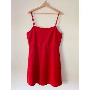 Wild Fable Red Skater Dress